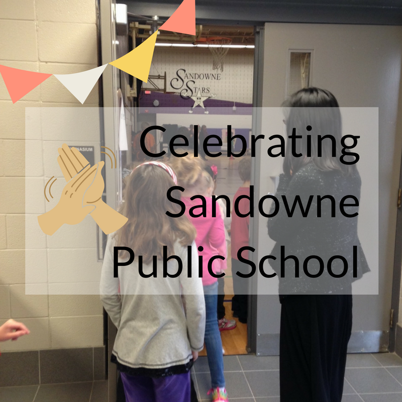 Celebrating Sandowne Public School