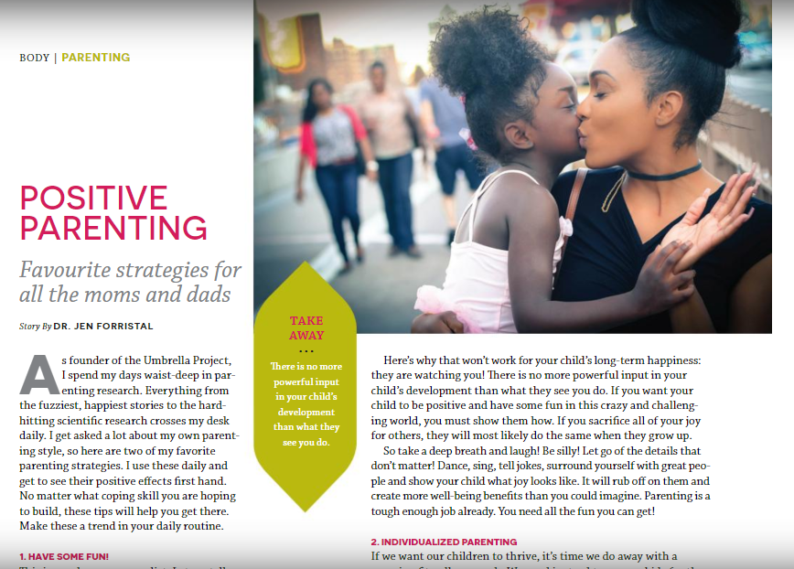 Positive Parenting – Grab your copy of The Holistic Parent Today!