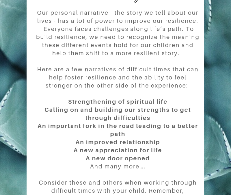 Personal Narratives to Foster Resilience: Today's Resilience Building Tip with Dr. Jen