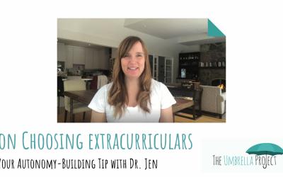 On Choosing Extracurriculars