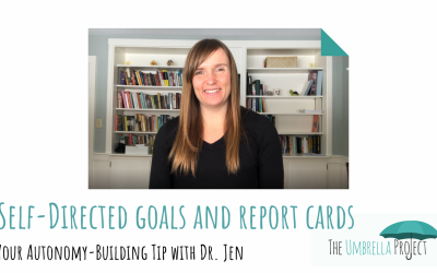 Self-Directed Goals and Report Cards