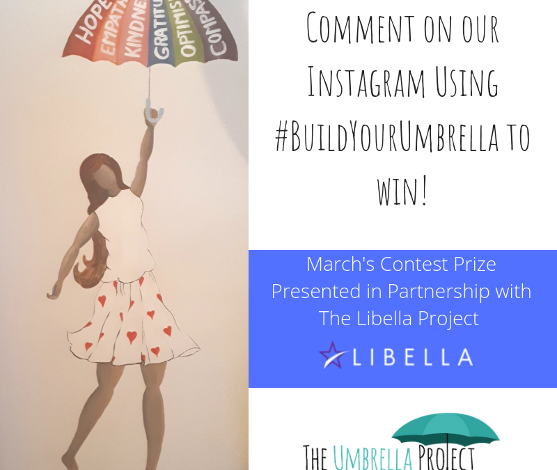 Contest: #BuildYourUmbrella with us this Spring!